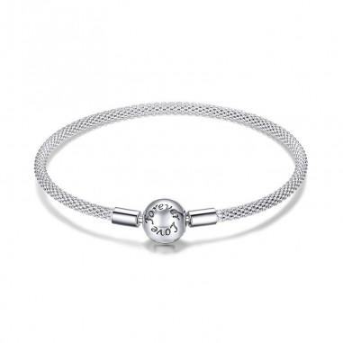 Forever Love - Bratara talismane argint fixa