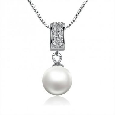 Elegant Pearl - Colier argint