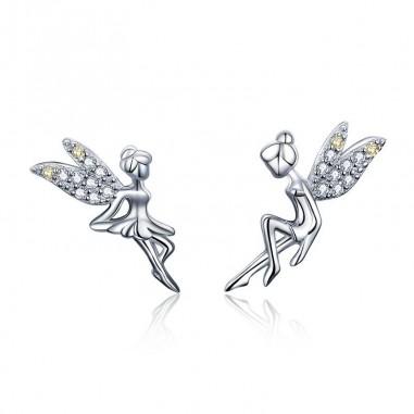Flower Fairy - Cercei argint
