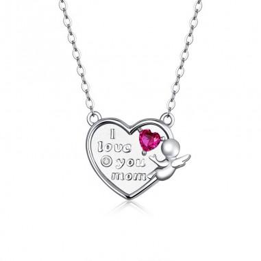 Love Angel - Colier argint