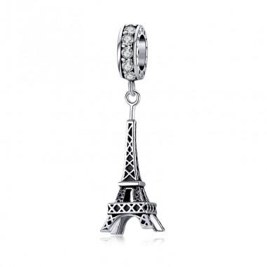 Eiffel Tower - Talisman argint