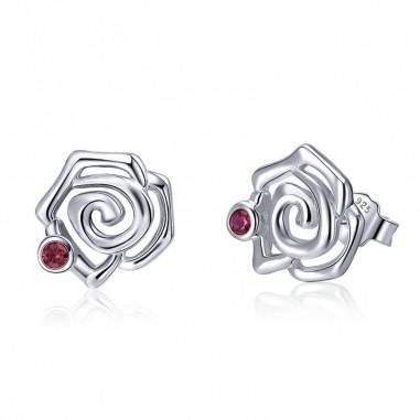 Romantic Rose - Cercei argint