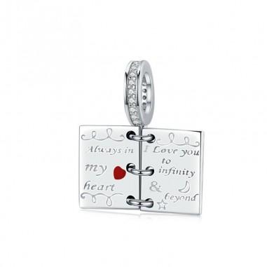 Love Note - Talisman argint