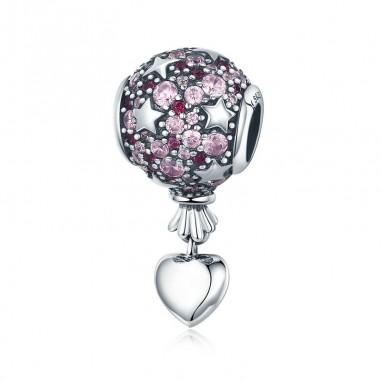 Love Balloon - Talisman argint