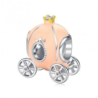 Pumpkin Carriage - Talisman argint