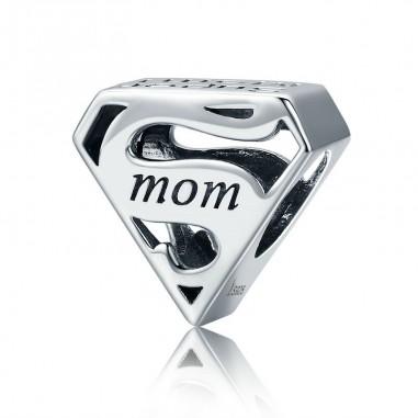 SuperMom - Talisman argint