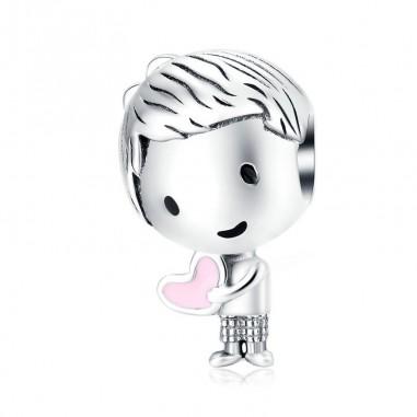 Valentine Boy - Talisman argint